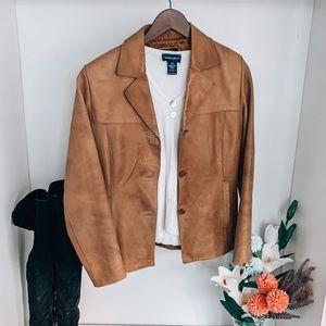 Genuine Leather Jacket - Size S